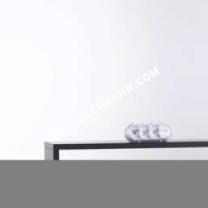lit 3 suisses collection t te de lit tag re laqu e. Black Bedroom Furniture Sets. Home Design Ideas