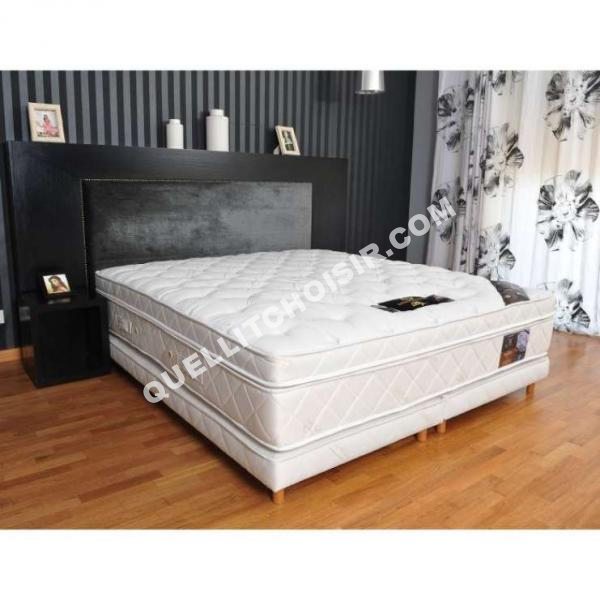 sommier 200x200 awesome box spring and mattress sold. Black Bedroom Furniture Sets. Home Design Ideas