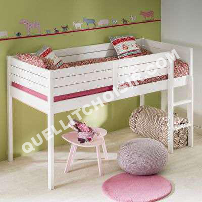 lit 3 suisses collection lit sur lev pour chambre enfant en pin massif d s 6. Black Bedroom Furniture Sets. Home Design Ideas