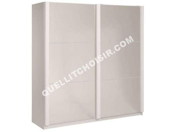 Armoire porte coulissante conforama for Armoire 1 porte conforama
