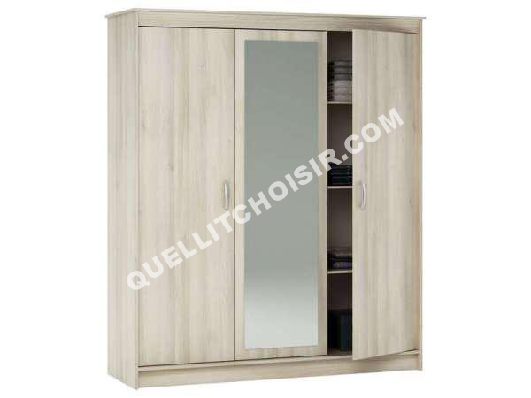 top free conforama armoire portes tiroir symphonie coloris. Black Bedroom Furniture Sets. Home Design Ideas