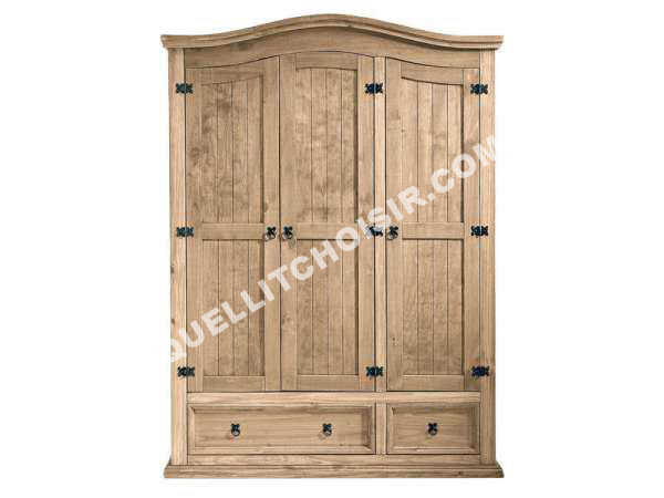 top conforama armoire portes penderie lingre tiroirs el. Black Bedroom Furniture Sets. Home Design Ideas