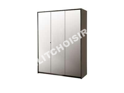 Lit placard conforama affordable armoire spot conforama for Conforama placard