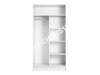 Armoire princesse conforama interesting great conforama for Armoire salon conforama
