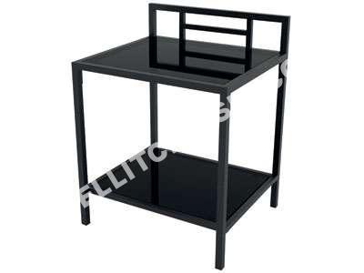 conforama table de nuit table de nuit conforama nestis chevet folk coloris ch ne vente de. Black Bedroom Furniture Sets. Home Design Ideas