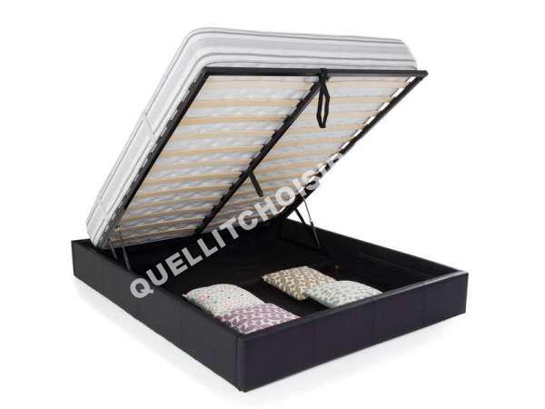 conforama lit adulte chambre lit x avec rangement intgr lit podium but for destin lit adulte. Black Bedroom Furniture Sets. Home Design Ideas