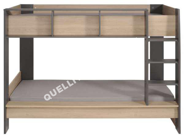 lit conforama lit superpos 2x90x200 cm tercio au meilleur prix. Black Bedroom Furniture Sets. Home Design Ideas