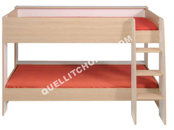 lit mezzanine kido. Black Bedroom Furniture Sets. Home Design Ideas