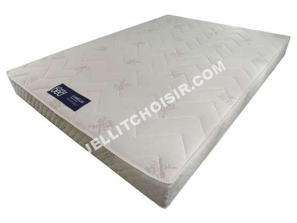 lit conforama matelas ressorts 140x190 cm confod stanislas au meilleur prix. Black Bedroom Furniture Sets. Home Design Ideas