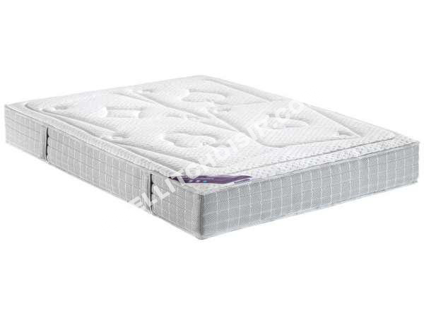lit dunlopillo matelas latex 160x200 cm carre d 39 as au meilleur prix. Black Bedroom Furniture Sets. Home Design Ideas