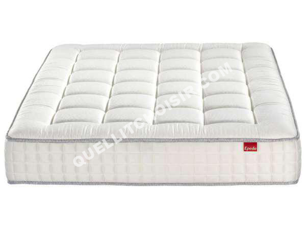 lit epeda matelas ressorts 140x190 cm ecrin au meilleur prix. Black Bedroom Furniture Sets. Home Design Ideas