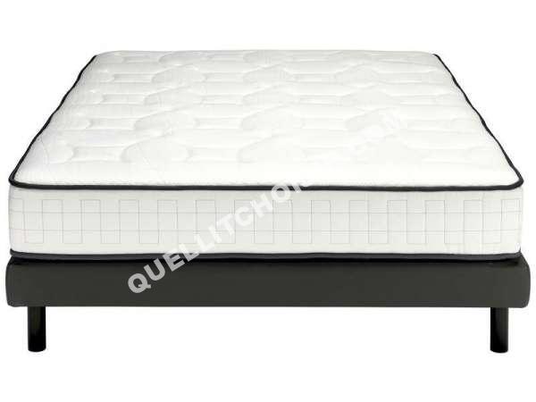 lit nightitude matelas sommier ressorts 160x200 cm light au meilleur prix. Black Bedroom Furniture Sets. Home Design Ideas