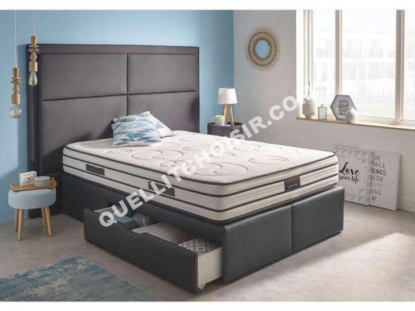 lit nightitude matelas mousse 140x190 cm full moon au meilleur prix. Black Bedroom Furniture Sets. Home Design Ideas