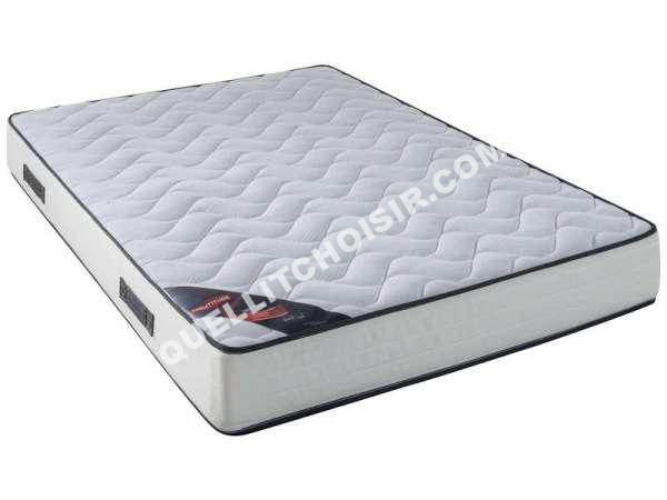 lit nightitude matelas ressorts 140x190 cm aston au meilleur prix. Black Bedroom Furniture Sets. Home Design Ideas