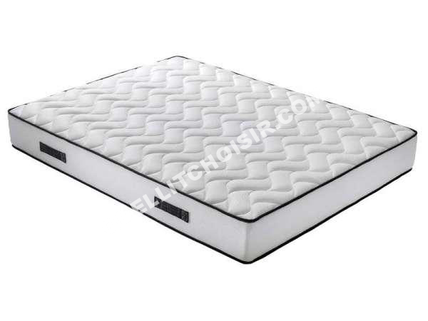 lit nightitude matelas ressorts 160x200 cm au meilleur prix. Black Bedroom Furniture Sets. Home Design Ideas