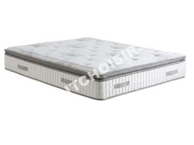 lit signature matelas 200 x 200 cm lara au meilleur prix. Black Bedroom Furniture Sets. Home Design Ideas