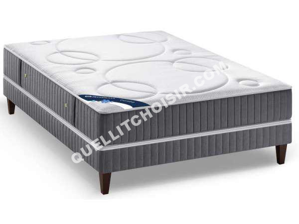 lit simmons matelas sommier ressorts 140x190 cm pers e au meilleur prix. Black Bedroom Furniture Sets. Home Design Ideas