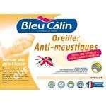 Accessoires<br/> lit Oreiller Anti moustiques Bleu Câlin 60x60