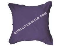 Linge de lit Taie d'oreiller 63x63 cm UNICO coloris deep purple