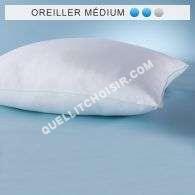 Accessoires<br/> lit Oreiller Synthétique Classique ''eole Fresh'' Confort Médium